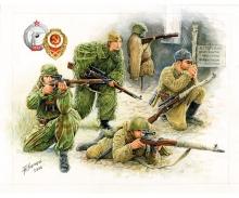 carson 1:72 Soviet Snipers