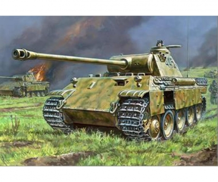 1:100 Panther Ausf.A German Tank WWII