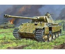 carson 1:100 Panther Ausf.A German Tank WWII