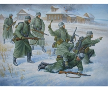 carson 1:72 German Infantry (Winter uniform)