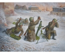 1:72 Soviet 82-mm Mortar w/Crew (Winter)