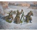 1:72 Soviet.82-mm Mörser m.Crew (Winter)