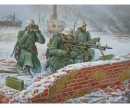 carson 1:72 German Machine-gun w/Crew (Winter)