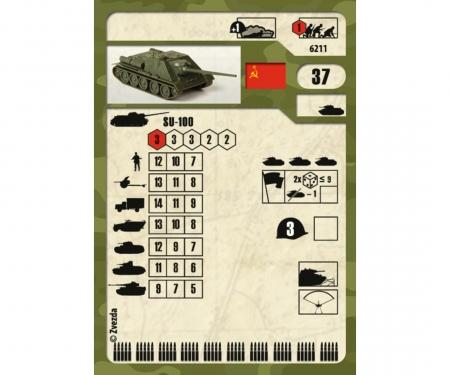 carson 1:100 Self-propelled Gun SU-100