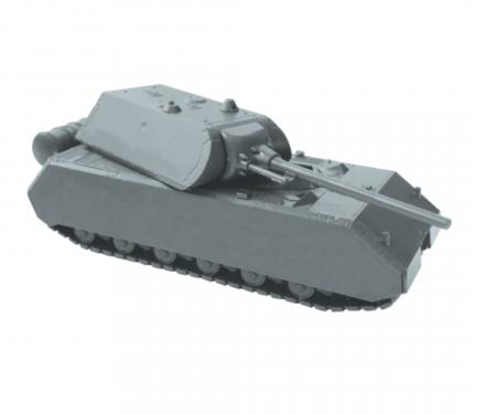 "carson 1:100 ""Maus"" German WWII SuperHeavyTank"