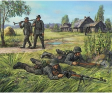 carson 1:72 German Anti Tank Rifle Team