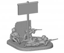 carson 1:72 German Sniper Team