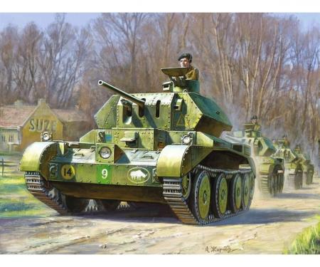 1:100 British Tank Crusader IV