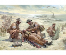carson 1:72 British Medic Team