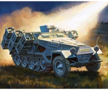 "carson 1/100 Sd.Kfz251/1 Ausf.B ""Stuka zu Fuss"""