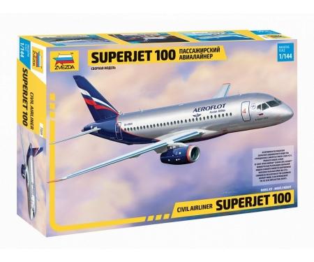 carson 1:144 Pass.-Airc. Sukhoi Superjet 100