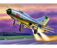 1:72 MiG-21 PFM Soviet Fighter (WA)
