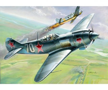 carson 1:72 Lavotchkin LA-5 FN Sov.Figh