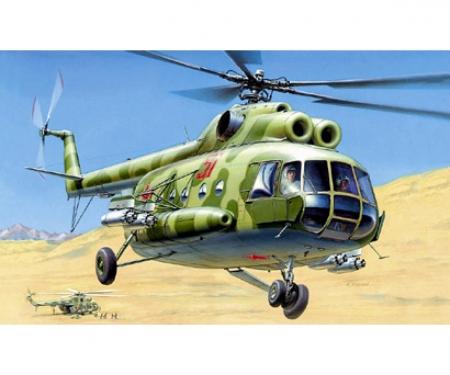 1:72 MIL MI-8T Soviet Helicopter