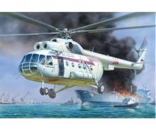carson 1:72 MIL MI-8 Rescue Helicopter