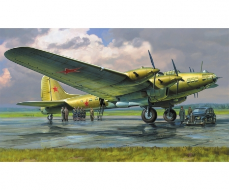 1:72 Pe-8 ON Stalin's Plane