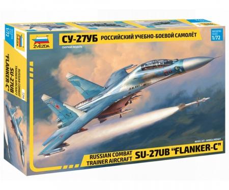 carson 1:72 Sukhoi SU-27 UB Flanker-C