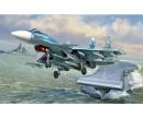 carson 1:72 Sukkoi SU-33 Russian Naval Fighter