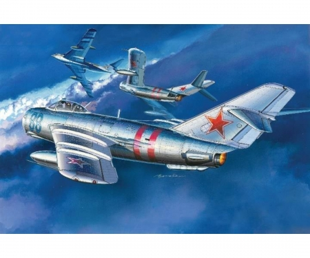 "carson 1:72 MIG-17 ""Fresco"" Soviet Fighter"