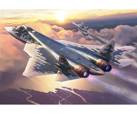 carson 1:72 Sukhoi SU-57