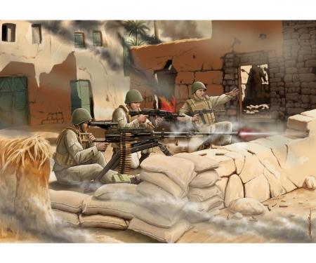 """1:72 Sov.Machine gun """"UTES"""" w/Crew(mod.)"""
