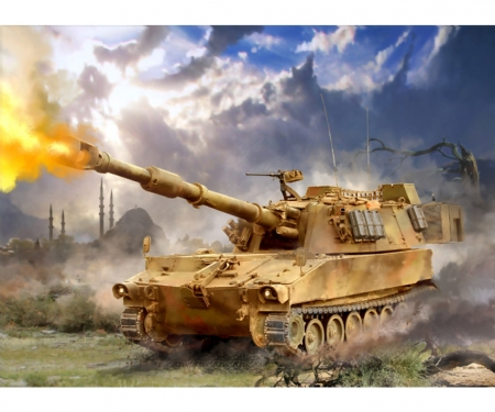 1:100 US Self Propelled Gun M-109