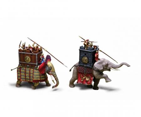 carson 1:72 War Elephants