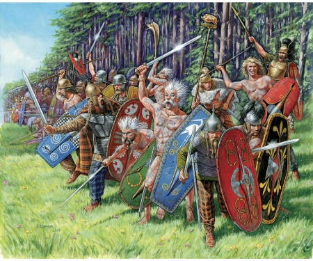 carson 1:72 Gallic Infantry (RR)