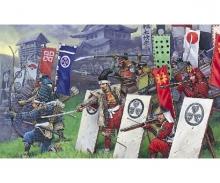 carson 1:72 Samuray Warriors-Infantry