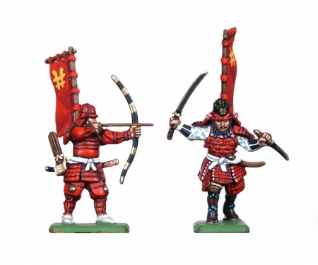 carson 1:72 Samuray Warriors-Infantry
