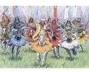 carson 1:72 Samurai Warriors-Cavalry