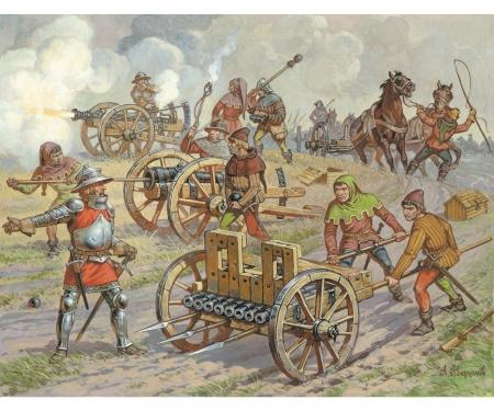 carson 1:72 Medieval Field Artillery