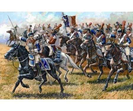 1:72 Hist.Fig.-Set Fren.Cuirassiers 1812
