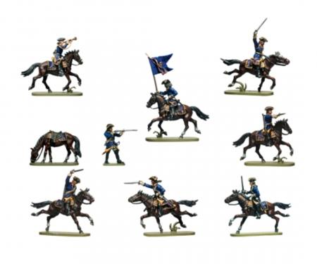 carson 1:72 Swedish Dragoons 17-18th cty
