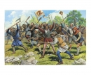 carson 1:72 Medieval Peasant Army