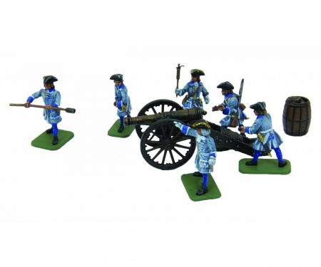 carson 1:72 Swed. Artillery s/Crew Cha.XII
