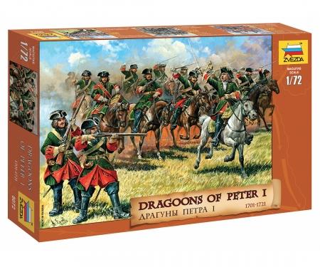carson 1:72 Hist.-Fig.-Set Dragoner Peter l.
