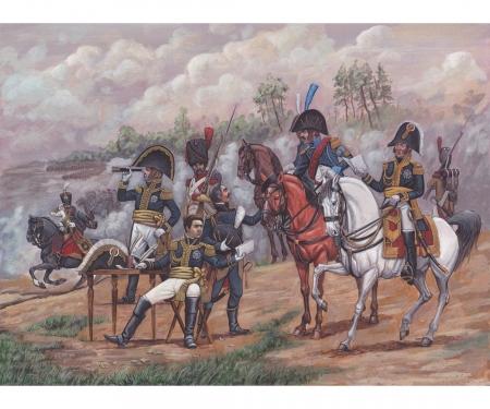 carson 1:72 Hist. French Napoleonic Gener.Staff