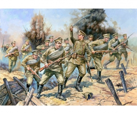1:72 WWI Figure-Set Rus. Infantry