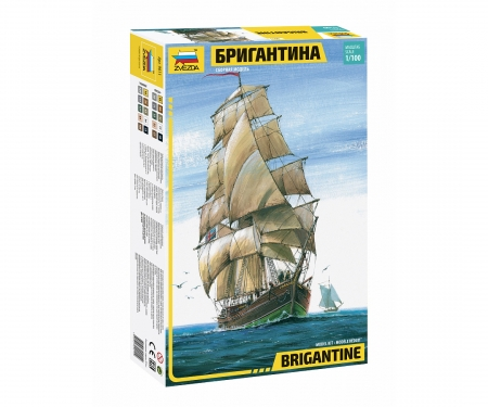 1:100 English Brigantine