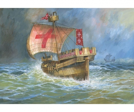 1:72 Crusaders Ship XII-XIV cent.