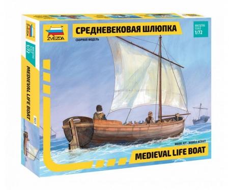 carson 1:72 Medieval Life Boat