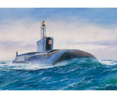 carson 1:350 Borey-Class Russ.Nuclear Submarine