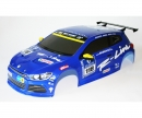 1:10 Body VW Scirocco, Decal, blue CV-10