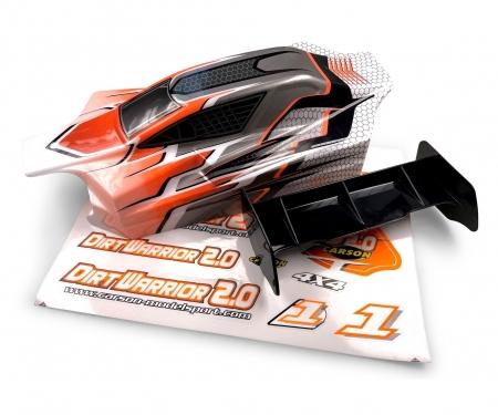 carson X10EB Dirtwarr.Sport Body + Wing