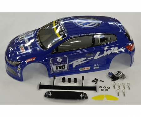 carson 1:10 Karosserie VW Scirocco blau X10E