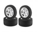 Buggy-Tire/Wheel All Terrain Chr. (2+2)