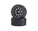 carson Tyre/wheel rim set Off-Road CV-10T black