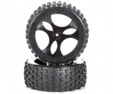 carson Dirt Attack Tire set (2) 1/5
