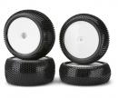 1:10 Tyre Set D.Warrior Dish, white 4pcs